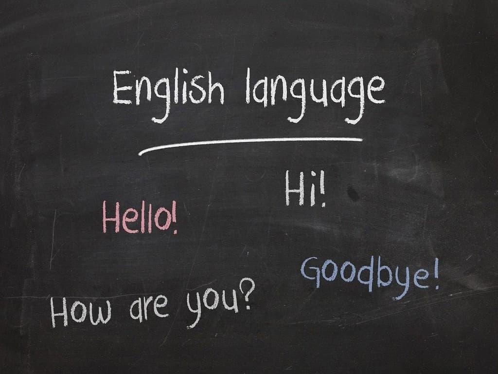 photo cours d'anglais