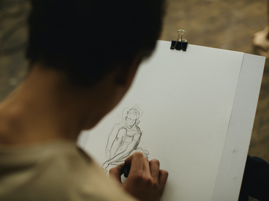dessin avec modèle